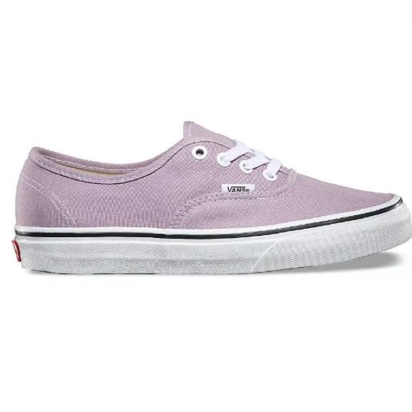 Vans authentic sea fog purple sneakers shoes 56b5f63d1